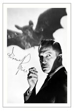 VINCENT PRICE HORROR THE BAT AUTOGRAPH SIGNED PHOTO PRINT POSTER