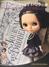 DOLL COORDINATE RECIPE 11 Japanese Doll's Clothes Pattern Book Blythe New Japan
