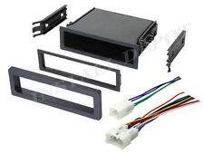 ★ TOYOTA CAR STEREO RADIO DASH INSTALLATION MOUNTING POCKET KIT & WIRE HARNESS ★