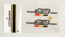4 Inch JDM Mugen Power Decal Stickers Black Color Made in Japan Honda Acura