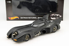 Batmobile de la película Batman Returns 1992 negro 1:18 hotwheels