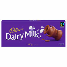 850g  BAR CADBURYS DAIRY MILK  CHOCOLATE Massive Bar Comes In Own Box