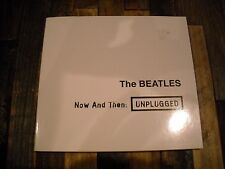 THE BEATLES NOW AND THEN UNPLUGGED CD WHITE 1968 LENNON MCCARTNEY HARRISON RARE