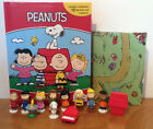 NEW OUT PEANUTS MY BUSY BOOKS WITH 12 CHARACTER FIGURES AND PLAYMAT BNIB