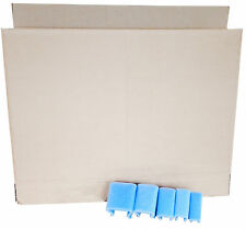 "24"" LCD TV Moving Storage Box with 4 Foam U Corners 60 - 80"