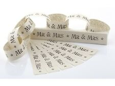 MR AND MRS Paper Chain Wedding Decoration or Napkin Holders by East India