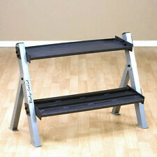 Body-Solid Dumbbell  Kettlebell Rack GDKR100