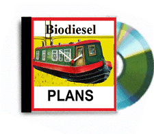 25 biodiesel  books run your Canal Barge Narrowboat  on used cooking oil