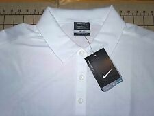 MENS LARGE SEATTLE SEAHAWKS WHITE NIKE GOLF POLO SHIRT - NWT