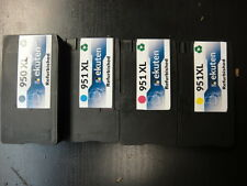 HP 950XL 951XL Refill Genuine Ink Cartridge - Refurbished Premium Pigment Ink