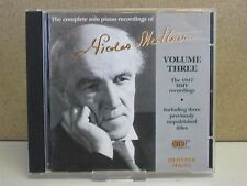Nicolas Medtner - Complete Solo Piano Works, Vol 3 - HMV 1947 Recordings CD