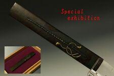 Japan Antiques edo Good gold KOZUKA muchi menuki koshirae tsuba saya kashira