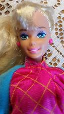 BARBIE DOLL WINTER SPORTS 1994 HOLIDAY SUPERSTAR FACE ARTICULATED BODY POSSIBLE