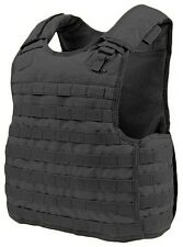 Condor Tactical QPC MOLLE/PALS Defender Body Armor Plate Carrier Vest Rig Black