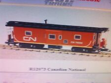 USA Trains G Scale Bay Window Caboose R12073 Canadian National - Red/Black