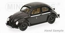 MINICHAMPS 431051294  - Volkswagen VW 1200 Export 1947 British car hire noir