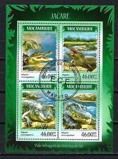 Mozambique 2014 Alligator Yvert n° 6027 à 6030 oblitéré