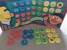 SESAME STREET Bert's Bottle Caps Game - REPLACEMENT BOARD & PIECES