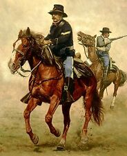 """The Escort"" Don Stivers Artist Proof Giclee Print - US Cavalry"