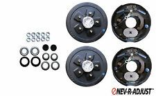 Add Brakes to Trailer Basic kit 3500# Axle 5 x 4.5 Electric Never Self Adjust