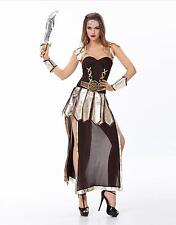 New Sexy Women Sparta Roman Warrior Princess Girl Xena Costume Cosplay Halloween
