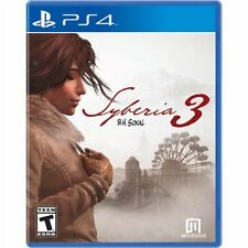 PS4 Syberia 3 B. H. Sokal NEW Sealed REGION FREE USA Game Plays on all consoles!