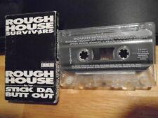 RARE OOP Rough House Survivers CASSETTE TAPE Stick Da Butt Out PETE ROCK MIX rap