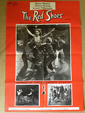 The RED SHOES RR ORIGINAL UK QUAD FILM POSTER MICHAEL POWELL PRESSBURGER