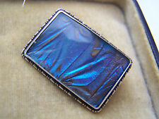 BEAUTIFUL VINTAGE STERLING SILVER BUTTERFLY WING BROOCH RARE & COLLECTABLE