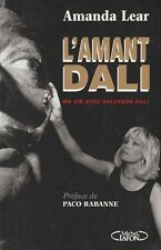 Salvador Dali UNREAD L'amant-Dali by Amanda Lear MICHEL LAFON, 1994 IN FRENCH!!!