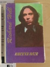 """RICHARD HELL SIGNED BOOK """"ARTIFACT""""MINIATURE BIOGRAPHY RARE TO FIND 1992 SC"""