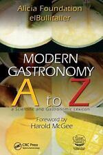 Modern Gastronomy: A to Z-ExLibrary