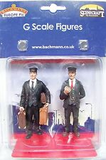 Scenecraft # 177 G 1:22.5 scale Station Master and Porter with Baggage Figures