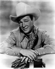 New 8x10 Photo: Legendary Western Cowboy Actor and Singer Roy Rogers, ca. 1955