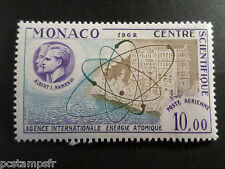 MONACO 1962, timbre AERIEN  80, AVION, ATOME, neuf**, AIRMAIL MNH STAMP