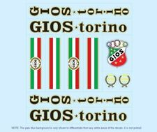 GIOS BICICLETTA decals-transfers-stickers # 1