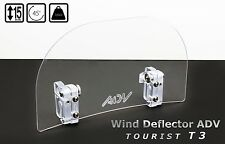 Universal ADV WIND SCREEN DEFLECTOR for motorcycle motorbike MEDIUM TOURIST T3