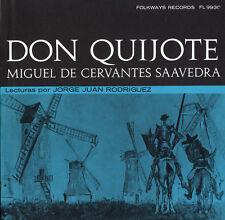 Jorge Juan Rodriguez - Don Quijote de la Mancha: Miguel de Cervantes [New CD]