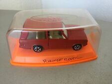 VINTAGE# GUILOY RANGE ROVER ROSSA RED ROJA 1:43 Scale #NIB
