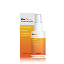 OxeDerm Anti Acne Body Care Treatment Spray  2 Fluid Ounces Blemishes Back Face