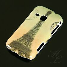 Samsung Galaxy Mini 2 s6500 HARD CASE GUSCIO ASTUCCIO France PARIGI TORRE EIFFEL COLORATA