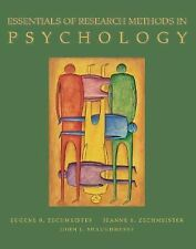 Essentials of Research Methods in Psychology by John J. Shaughnessy, Eugene...