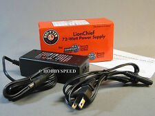 LIONEL O GAUGE FASTRACK LIONCHIEF/ PLUS 72 WATT POWER SUPPLY  wire 6-81603