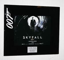 James Bond 007, DANIEL CRAIG Signed Autograph, SKYFALL, Frame, Storyboard, COA