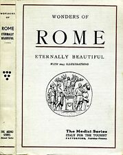 Wonders Of Rome. THE MONUMENTS OF ANTIQUITY, THE CHURCHES, THE PALACES, THE TREA