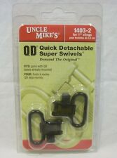 "Uncle Mikes 1403-2 QD Quick Detachable Super Swivels for 1"" Slings Sling"