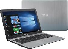 "New ASUS VivoBook X540S 15.6"" Laptop Intel Quad 4GB/500GB/DVD-RW/Silver"