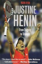 Justin Henin by Ryan Mark - Book - Hard Cover - Sport - Autobiography