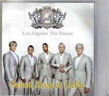 Los Angeles The Voices-Geloof Hoop En Liefde Promo cd single