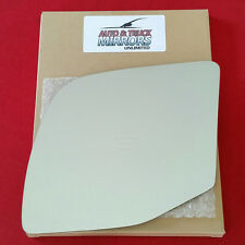 NEW Mirror Glass + ADHESIVE 92-07 FORD E150 ECONOLINE VAN Driver Left Side POWER